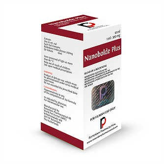 NANOBOLDE PLUS (MIX DE BOLDENONAA) 300 MG X 10 ML