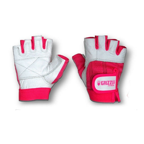 GUANTES DE PIEL ROSAS Ladies Pink Gloves (8748)