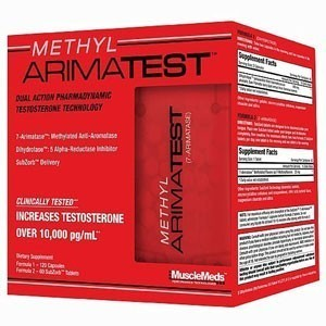 METHYL ARIMATEST 120 TABLETAS  + 60  FREE