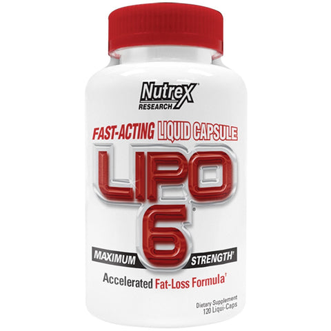 LIPO 6 MAXIMUM STRENGTH 120 CAPSULAS