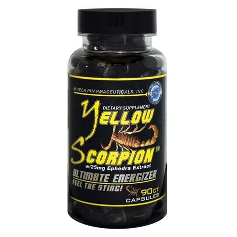 YELLOW SCORPION  90 Capsulas