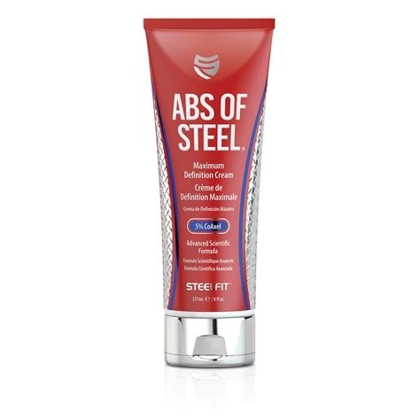 ABS OF STEEL 8 OZAS