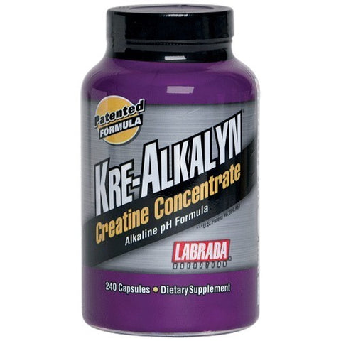 KRE-ALKALYN CREATINE CONCENTRATE PH CORRECTED 240 Capsulas