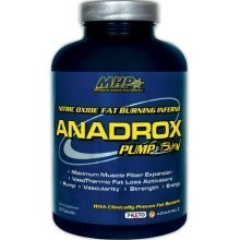 ANADROX PUMP AND BURN 112 Capsulas