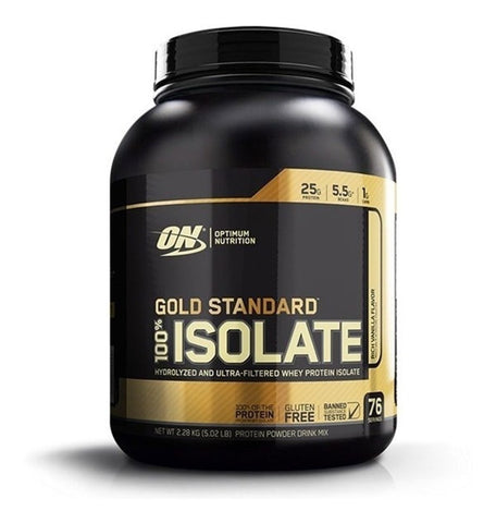 100% WHEY GOLD STANDARD ISOLATE 5 lb 76 SERV