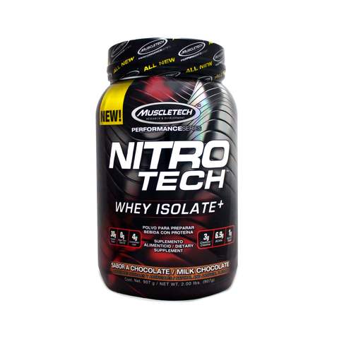 Nitro Tech para un aumento muscular mayor