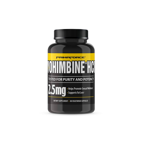 PRIMAFORCE Yohimbine HCL 2.5 mg 90 ct