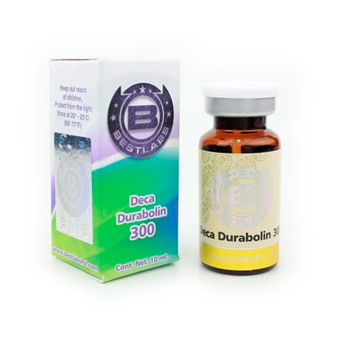 Frasco de Deca Durabolin Best Labs esteroide 300 mg