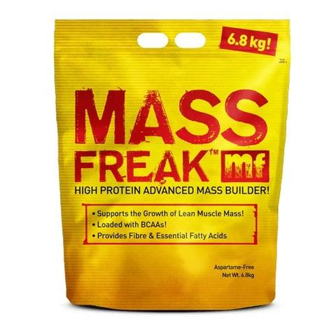 Empaque de mass freak.