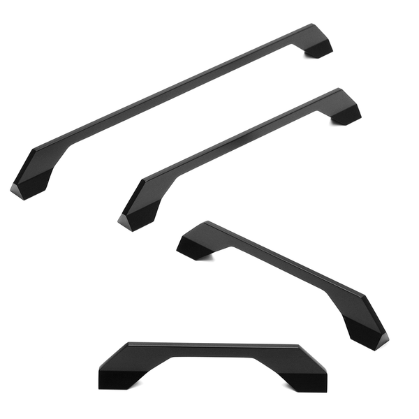 Designer Black Premium Kitchen Cupboard Handles - Decor And Decor