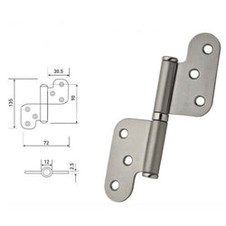 Stainless Steel Lift Off Internal Door Hinges - Decor And Decor