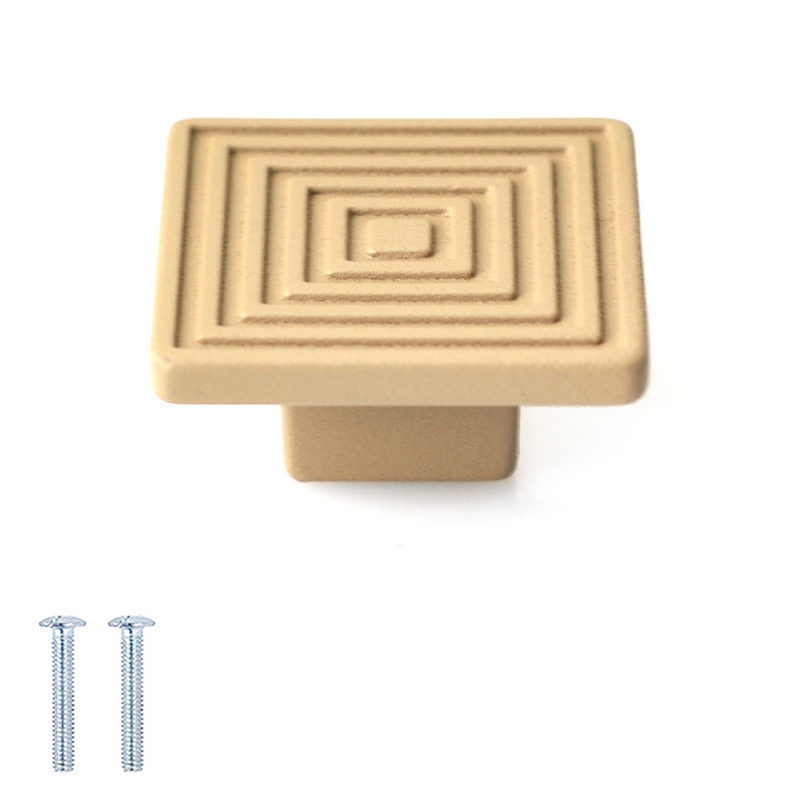 Decorative Square Modern Cabinet Drawer Knobs - Decor And Decor