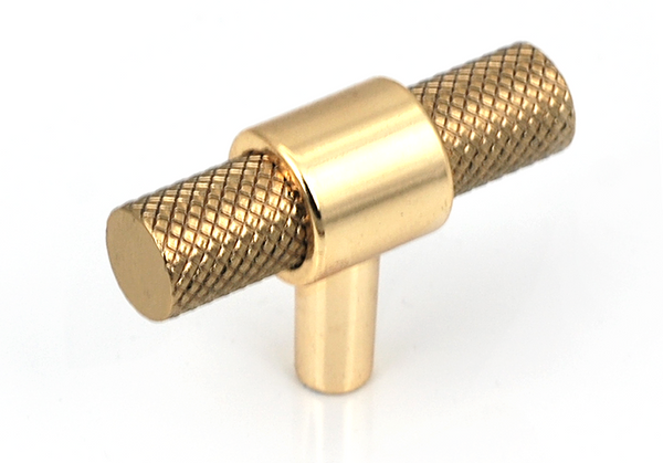 Knurled T-Bar Kitchen Door Handle And Knob - Decor And Decor