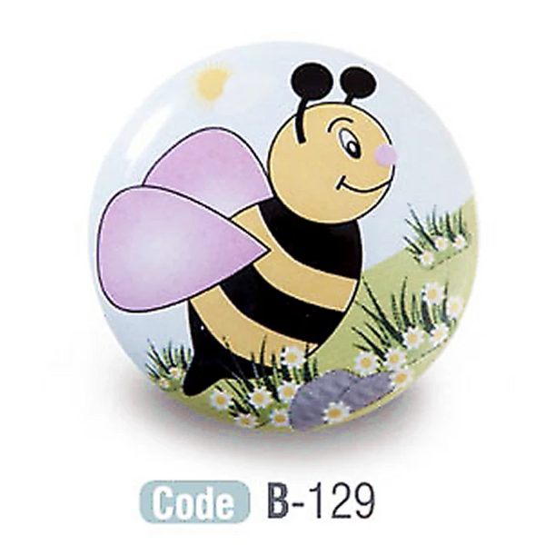 Bee Kids Ceramic Cabinet Knobs Porcelain - Decor And Decor