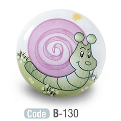 Kids Snail Ceramic Cupboard Knobs Porcelain - Decor And Decor