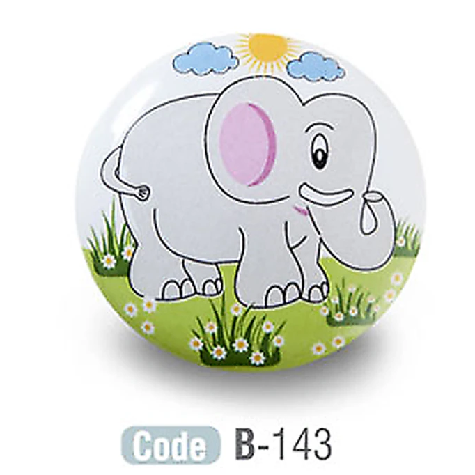 Elephant Kids Ceramic Cupboard Knobs Porcelain - Decor And Decor