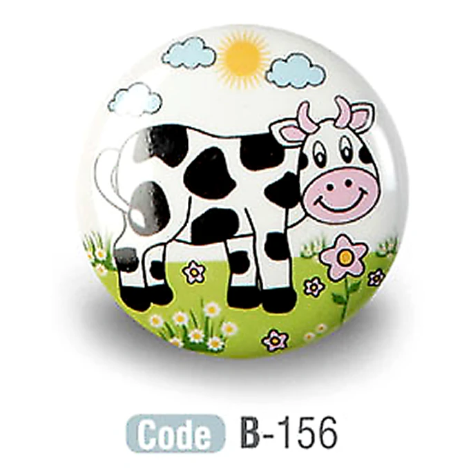 Kids Sheep Ceramic Cupboard Knobs Porcelain - Decor And Decor