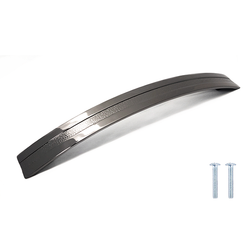Glossy Zinc Alloy Modern Bow Handle - Decor And Decor
