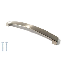 Flat Width Curved Bow Kitchen Cabinet Handles -  Decor And Decor