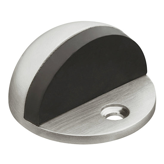Oval Floor Mounted Door Stop Wall Protector - Decor And Decor
