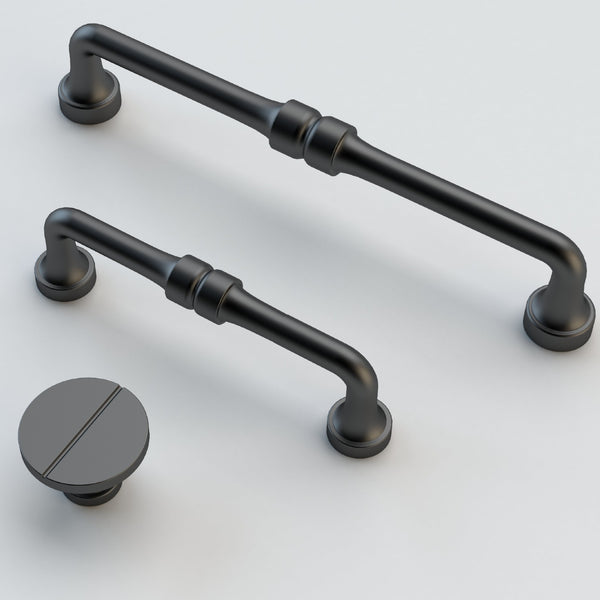 Designer Slimline D Pull Handles - Decor And Decor