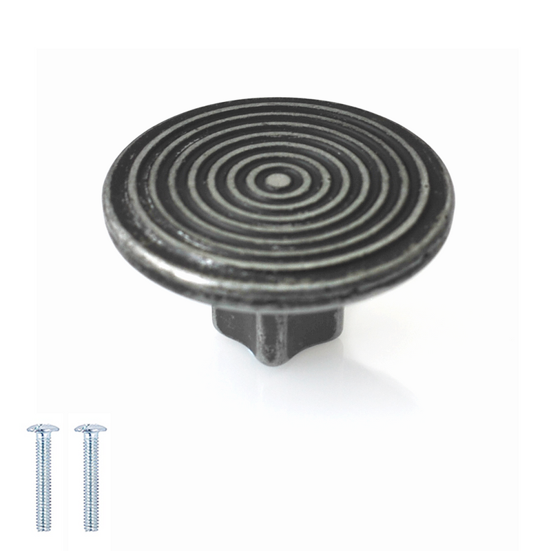 Spiral Round 40mm Diameter Knob - Decor And Decor