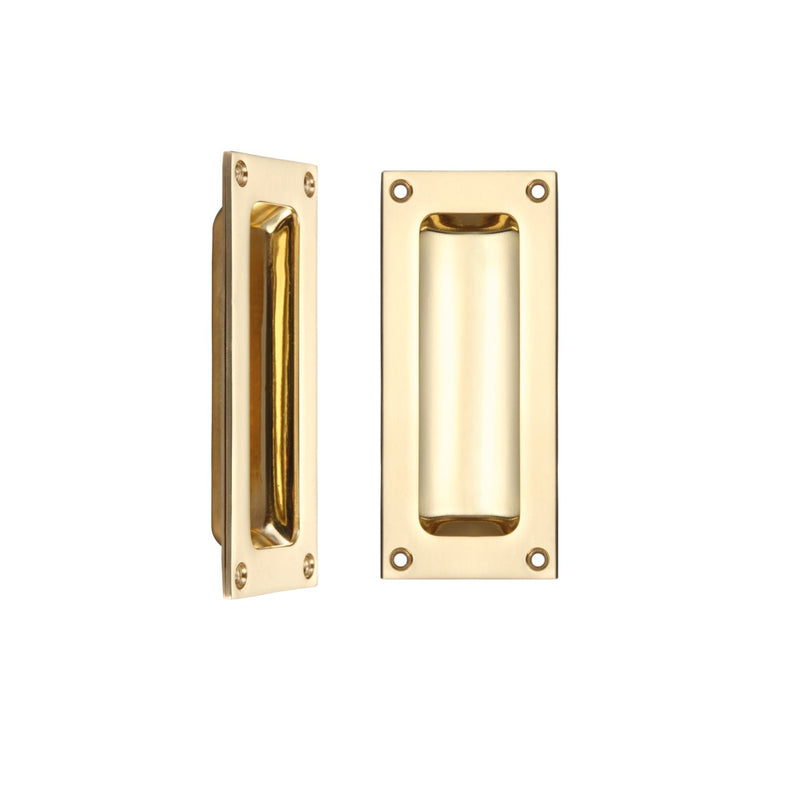 Rectangular Recessed Flush Inset Sliding Door Handle - Decor And Decor