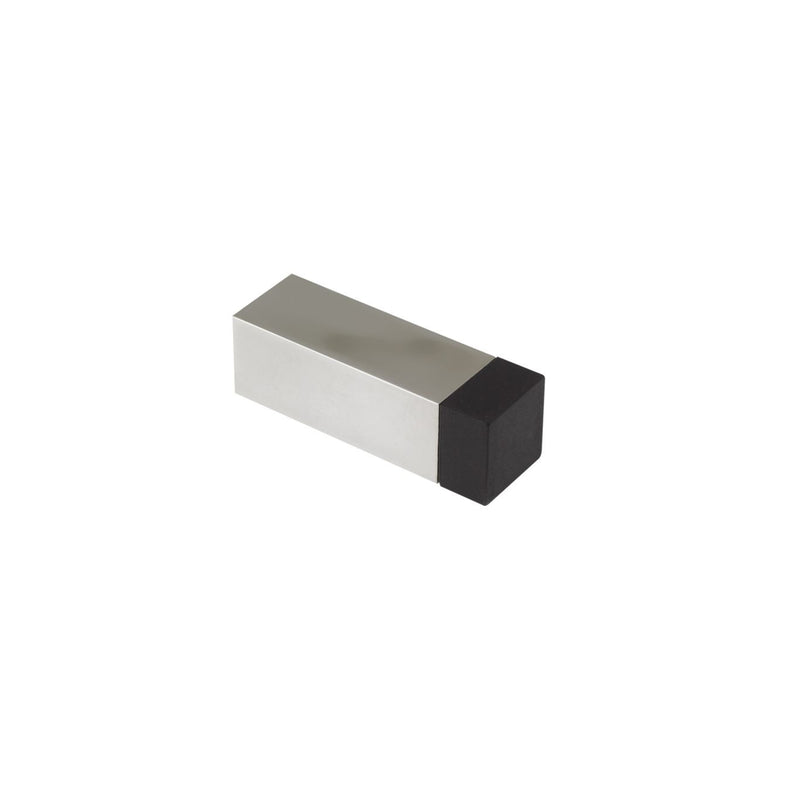 Square Stainless Steel Wall Skirting Mounted Projection Door Stop - Decor And Decor