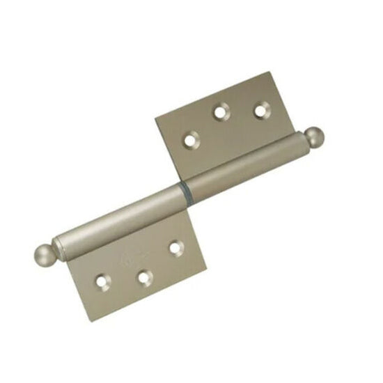 Brushed Light Duty Lift Off Door Hinges 100mm - Decor And Decor