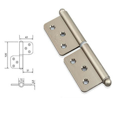 Stainless Steel Heavy Duty Lift Off Door Hinges - Decor And Decor