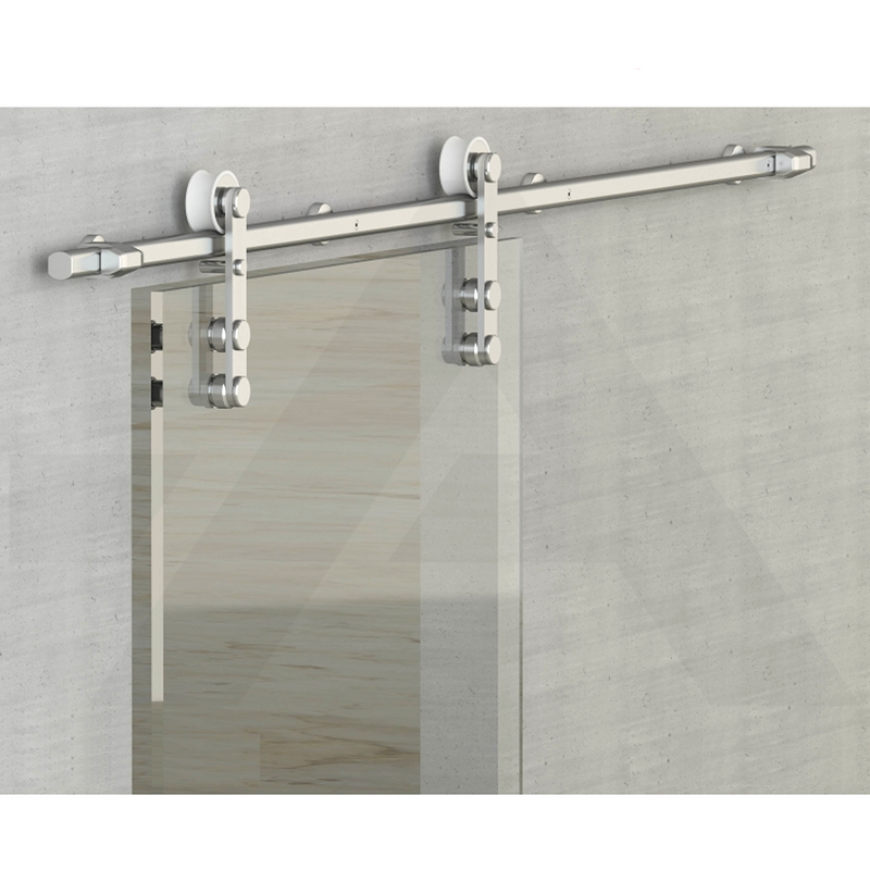 High Quality 1700mm / 2000mm Silver Sliding Glass Door Track System - Decor And Decor
