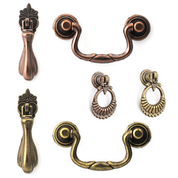 Old Gothic Finger Pull Handles To Mix And Match - Decor And Decor