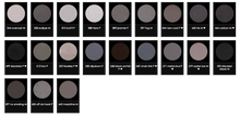 Load image into Gallery viewer, Greys, Charcoals, & Blacks Eyeshadow