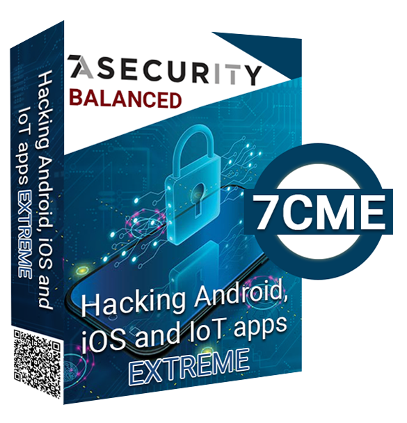 Hacking Android, iOS and IoT apps EXTREME - Balanced (Preview)