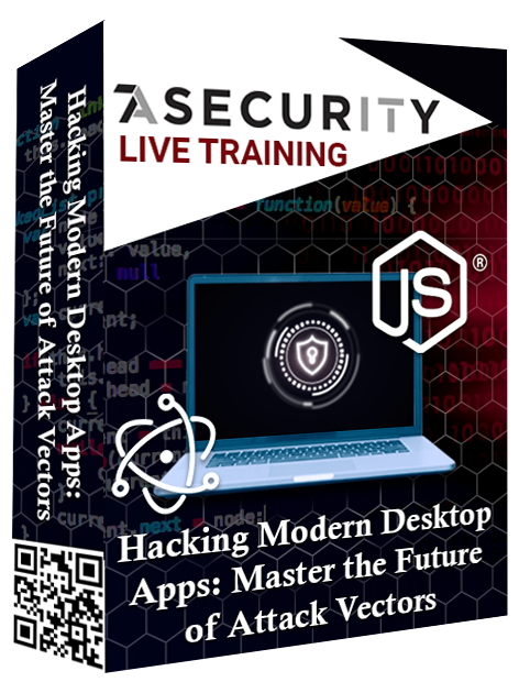 Live Training: Hacking Modern Desktop Apps: Master the Future of Attack Vectors