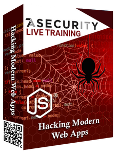 Live Training : Hacking Modern Web Apps: Master the Future of Attack Vectors