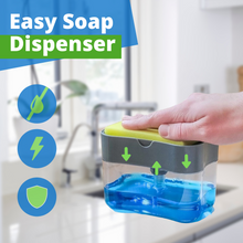 Load image into Gallery viewer, 2 in 1 Easy Soap Dispenser