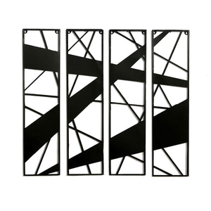 Iron Wall Hanging & Mounted Sculpture Wall Art for Home Decor - Furnishiaa