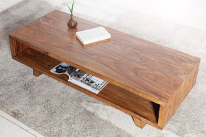 Solid Sheesham Wood Center Coffee Table for living room - Furnishiaa