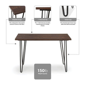 Study computer office side table writing desk for kids home and office - Furnishiaa
