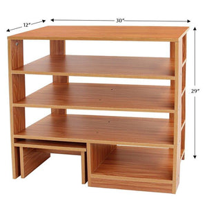 Manufactured wood shoe rack - Furnishiaa