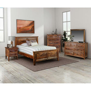 Furnishia Sheesham Solid Wood Furniture for Bedroom Home - Furnishiaa