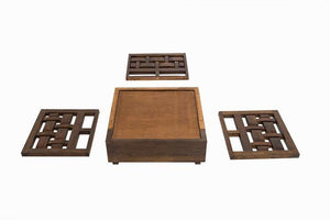 Solid Wood Sofa Set for living room - Furnishiaa