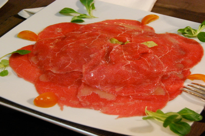 Carpaccio di Vitella Fassone