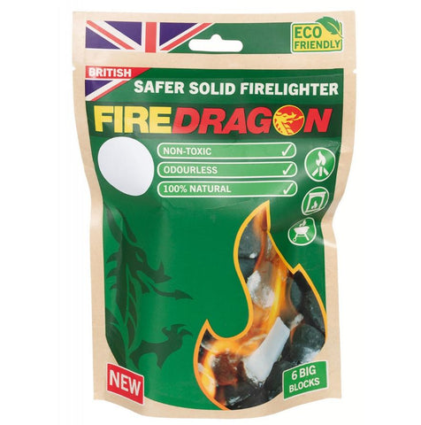 Firedragon Brennstoff 27g (6x) - EMERTAC - Emergency Supplies & Tactical Gear