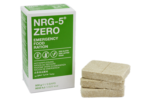 Trek´n Eat NRG-5 ZERO Notnahrung 500 g - EMERTAC - Emergency Supplies & Tactical Gear