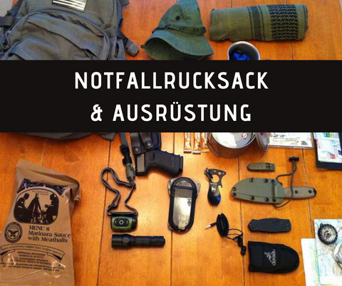 Kurs - Notfallrucksack (Basic) - EMERTAC - Emergency Supplies & Tactical Gear