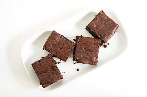 Four-Pieces-of-CBD-Brownies-Recipe