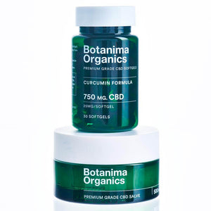 Load image into Gallery viewer, Botanima-Organics-Natural-Pain-CBD-Remedy-Tincture-Softgels-Products-Bundle