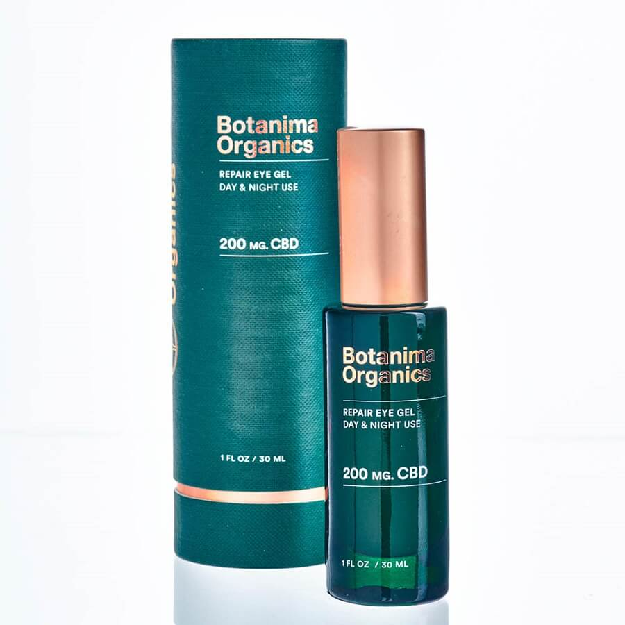 CBD-Repair-Eye-Gel-for-Reducing-Puffiness-Botanima-Organics-Premium-Skincare-With-Box